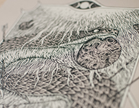 Ufomammut gig poster / print