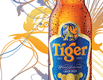Promotional work for Tiger Beer, Lao PDR