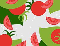 Pomodoro. Gourmet Italian restaurant branding & webpage