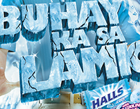 "Halls ""JOLT"" Integrated Campaign"