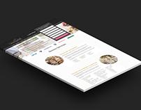Table Parfaite - Landing Page