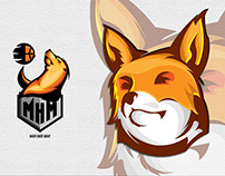 logo toon basket ball and gamer