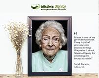 Mission:Dignity Non-profit 2017 Brand Refresh