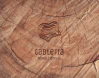 Logo Tableria - furniture made of wood