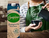 Campina Bio - milk & yoghurt