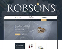 Robsons Jewelers — Jewelry Website Design