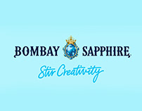 Artworks for Bombay Sapphire - Stir Creativity