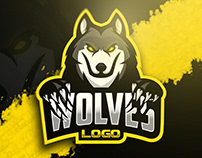 Wolves mascot logo [SOLD]