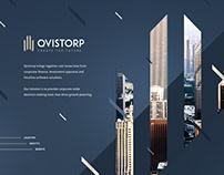 QVISTORP - UI, UX, brand design