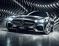 AMG GT - CGI & Retouching