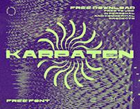 KARPATEN - FREE WIDE SANS SERIF FONT