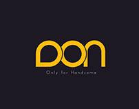 DON - Men's Wear Branding Design