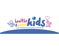Logotipo Healthy and Happy Kids