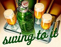 Grolsch Beer poster