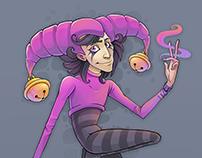 Violet Jester