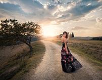 Fashion and Travel Photo Shoot, Italy