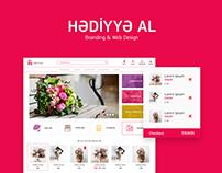Hədiyyə Al / Branding & web design