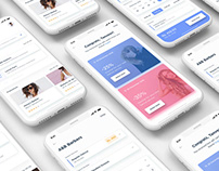 Barber App UI design