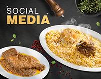 Social Media - Aminia Restaurant