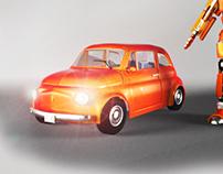 Fiat 500 transformer