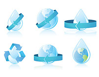 Vector Icons: Water Conservation [Free Download]