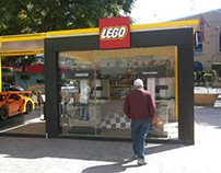 External Lego Store at Mexico City