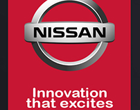 UI for Nissan Launch Event Application