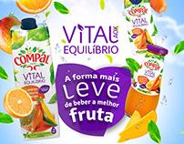 COMPAL VITAL - Fruta Leve - proposal campaign