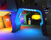 Beeline exhibition stand [2004]