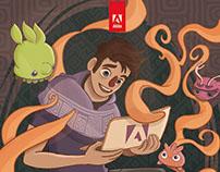 Portada libreta interactiva Adobe