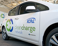 KCP&L Clean Charge Network Brand Identity