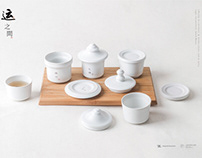 YUN  Ceramics Tea ware design of The Grand Ganal