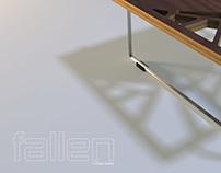 FALLEN coffee table