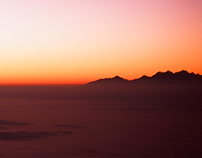Mountains Sunrise