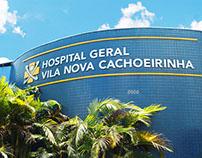 Hospital Geral Vila Nova Cachoeirinha - Sinalização