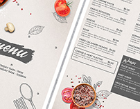 Restaurant Food Menu Flyer Template