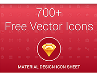 Material Icons Sketch App