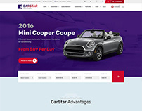 CarStar - Automotive WordPress Theme