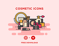 FREE - COSMETIC ICONS