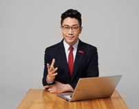 파고다 어학원 강사 기업 홍보 촬영