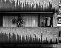 Concrete Frames - Barbican Estate