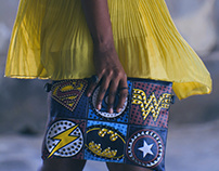 Creating looks - A tribute to Superheroes.