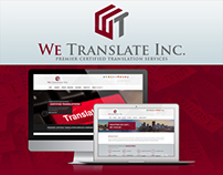 We Translate Inc. | Website Design | Branding