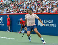 Roger Federer at Coupe Rogers