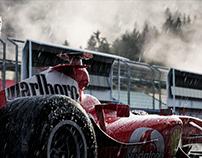 Ferrari F2004 - Michael Schumacher