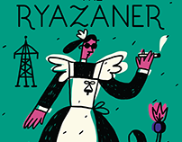 The Ryazaner Magazine - cover concept