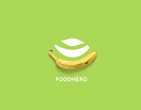 FOODHERO - Brand and Visual Identity Design