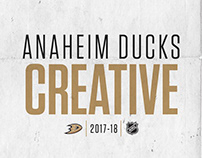 2017-18 | Anaheim Ducks Season Creative