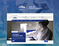 Web design, Photgraphy - Microsules Argentina