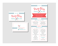 Logo + Business Card + Menu #DESIGNWORKSTM
